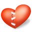 Heart-patched icon
