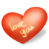Heart-love-you icon