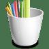 Pencil-can icon