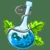 Poison-blue icon