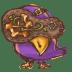 Steampunk-Bird icon