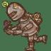 Steampunk-Robot icon