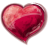 Heart red icon