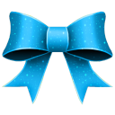 Ribbon Blue Pattern icon