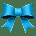 Ribbon-Blue-Pattern icon