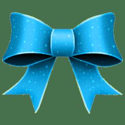 Ribbon Blue Pattern icon