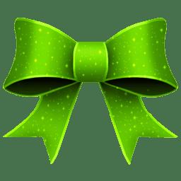 Ribbon Green Pattern icon