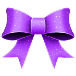 Ribbon Purple Pattern icon