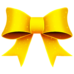 Ribbon Yellow Pattern icon