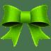 Ribbon-Green-Pattern icon