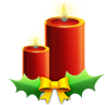 Candles-with-ribbon icon