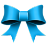 Ribbon-Blue icon