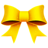 Ribbon-Yellow-Pattern icon