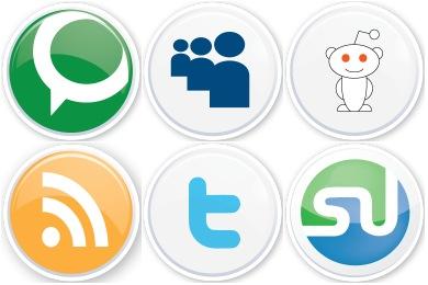 Social Button Icons