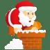 Santa-chimney icon