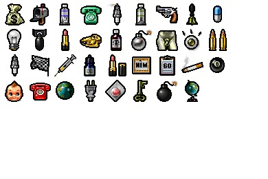 Symbolic Objects Icons