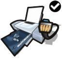 Printer network standard icon