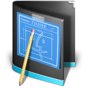 Developer Folder Black icon