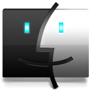 Finder Black icon