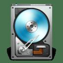 HD OpenDrive Blue icon