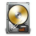 HD OpenDrive Golden icon