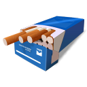 Cigarretes Blue icon