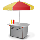 Hot Dog Car icon