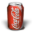 Coca Cola Smudge icon