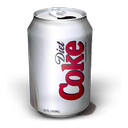 Diet Coke Smudge icon