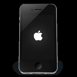 iPhone Black Apple icon
