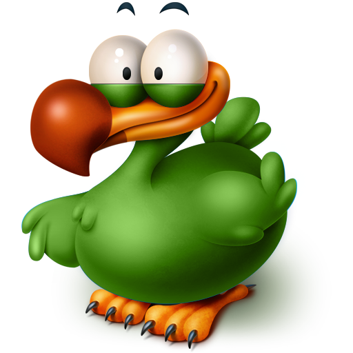 The Extinct Flightless Adium Bird icon
