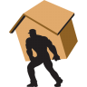Carry-home-brown icon