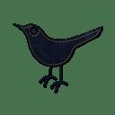 Twitter bird 2 icon