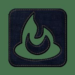 Feedburner square icon