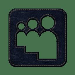 Myspace square 2 icon