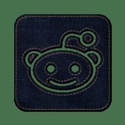 Reddit square icon