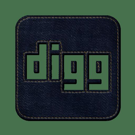 Digg2-square icon