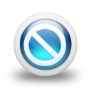 Glossy 3d blue orbs2 079 icon