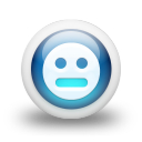 Glossy-3d-blue-orbs2-136 icon