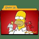 The Simpsons Season 18 icon