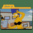 The Simpsons Season 22 icon