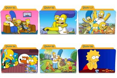 Simpsons Folder Icons