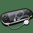 Psp headphones icon