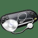 Psp umd headphones icon