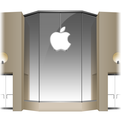 Apple-Store-Louvre-Front icon