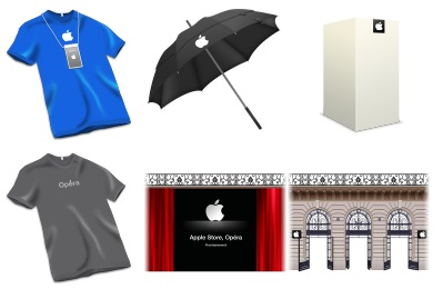 Apple Store Icons