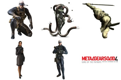 Metal Gear Solid 4 Icons