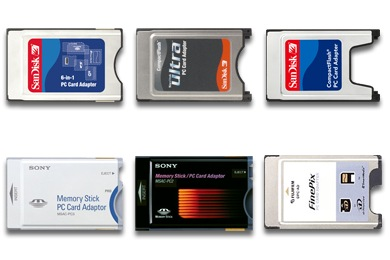 PC Card Readers Icons