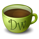 Coffee Dreamweaver icon