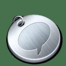 Shiny messenger icon
